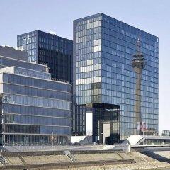 Отель Hyatt Regency Düsseldorf Германия, Дюссельдорф - отзывы, цены и фото номеров - забронировать отель Hyatt Regency Düsseldorf онлайн вид на фасад