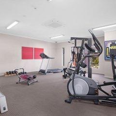 Отель Platinum International фитнесс-зал фото 2