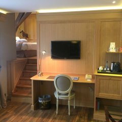 Hotel le Dixseptieme удобства в номере