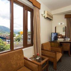 Отель Tulsi Непал, Покхара - отзывы, цены и фото номеров - забронировать отель Tulsi онлайн комната для гостей фото 5