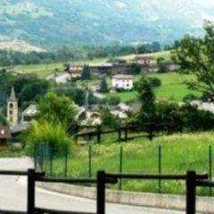 Отель Affittacamere Il Contadino Поллейн приотельная территория