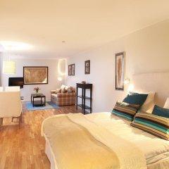 Апартаменты Biz Apartment Gardet Стокгольм комната для гостей фото 2