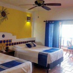 Отель Playa Conchas Chinas Пуэрто-Вальярта комната для гостей фото 5