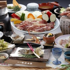 Отель Yufu Ryochiku Хидзи питание
