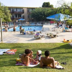 Отель Aparthotel Comtat Sant Jordi фитнесс-зал