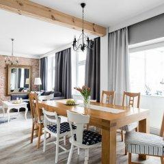Апартаменты Sanhaus Apartments Сопот питание