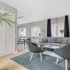 Отель Rosenborg Hotel Apartments Дания, Копенгаген - отзывы, цены и фото номеров - забронировать отель Rosenborg Hotel Apartments онлайн комната для гостей фото 4