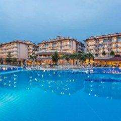 Grand Hotel Art Side Турция, Сиде - отзывы, цены и фото номеров - забронировать отель Grand Hotel Art Side онлайн пляж фото 2