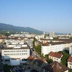 Отель VISIONAPARTMENTS Zurich Wolframplatz городской автобус