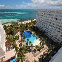 Отель Oasis Palm Hotel Мексика, Канкун - 9 отзывов об отеле, цены и фото номеров - забронировать отель Oasis Palm Hotel онлайн балкон