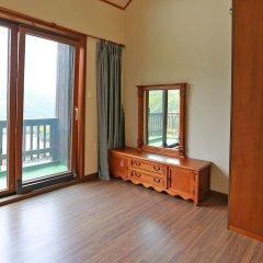 Отель Chalet Resort Южная Корея, Пхёнчан - отзывы, цены и фото номеров - забронировать отель Chalet Resort онлайн комната для гостей фото 4