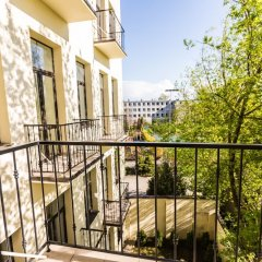 Апартаменты Riga Lux Apartments - Ernesta балкон