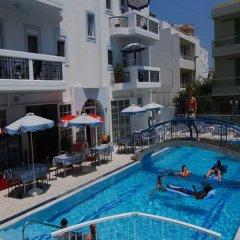 Отель Sevi Sun Apartments I Греция, Кос - отзывы, цены и фото номеров - забронировать отель Sevi Sun Apartments I онлайн бассейн фото 2