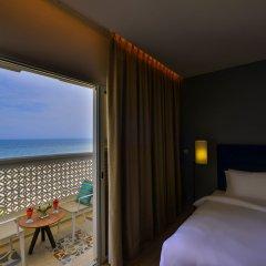 Отель Sealine Beach - a Murwab Resort Катар, Месайед - отзывы, цены и фото номеров - забронировать отель Sealine Beach - a Murwab Resort онлайн балкон