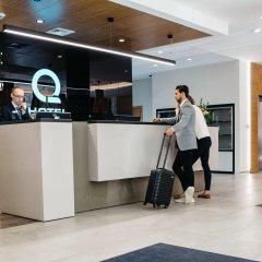 Q Hotel Plus Katowice интерьер отеля