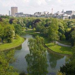 Отель Radisson Blu Park Lane Антверпен приотельная территория