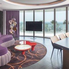 Отель W Dubai The Palm Дубай гостиничный бар