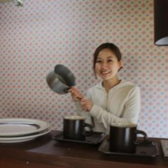 Отель Guest House Wind Inn Hakuba Хакуба питание