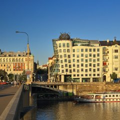 Dancing House Hotel Прага приотельная территория фото 2