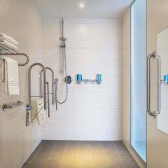 Отель Aloft Brussels Schuman Бельгия, Брюссель - 2 отзыва об отеле, цены и фото номеров - забронировать отель Aloft Brussels Schuman онлайн ванная