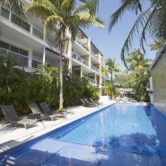 Отель Downtown Apartment Oasis 12 Мексика, Плая-дель-Кармен - отзывы, цены и фото номеров - забронировать отель Downtown Apartment Oasis 12 онлайн бассейн