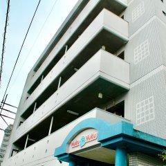 Отель Hukuhuku Guesthouse Хаката парковка