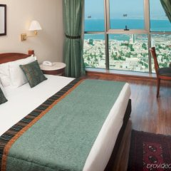 Crowne Plaza Haifa Израиль, Хайфа - отзывы, цены и фото номеров - забронировать отель Crowne Plaza Haifa онлайн комната для гостей фото 2