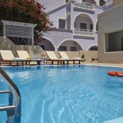 Отель Studios Marios Греция, Остров Санторини - отзывы, цены и фото номеров - забронировать отель Studios Marios онлайн бассейн фото 3