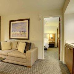 Отель Hilton Columbus Downtown США, Колумбус - отзывы, цены и фото номеров - забронировать отель Hilton Columbus Downtown онлайн комната для гостей фото 5