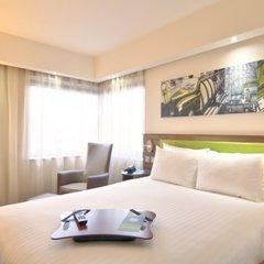 Гостиница Hampton by Hilton Moscow Strogino (Хэмптон бай Хилтон) 3* Стандартный номер с разными типами кроватей фото 7