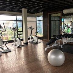Отель Dusit Grand Condo View Pattaya Паттайя фитнесс-зал фото 2