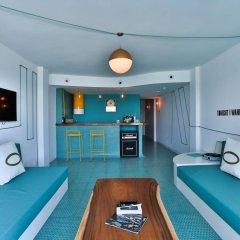 Отель Dorado Ibiza Suites - Adults Only Испания, Сант Джордин де Сес Салинес - отзывы, цены и фото номеров - забронировать отель Dorado Ibiza Suites - Adults Only онлайн комната для гостей фото 3