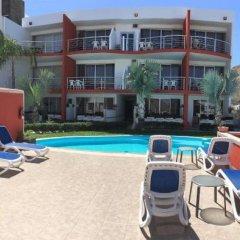 Отель Cabo Sunset Condo Hotel Мексика, Педрегал - отзывы, цены и фото номеров - забронировать отель Cabo Sunset Condo Hotel онлайн бассейн фото 3