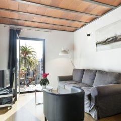 Отель Aspasios Las Ramblas Apartments Испания, Барселона - отзывы, цены и фото номеров - забронировать отель Aspasios Las Ramblas Apartments онлайн комната для гостей фото 5