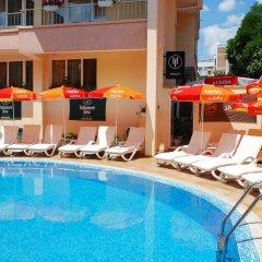 Hotel Italia Nessebar бассейн