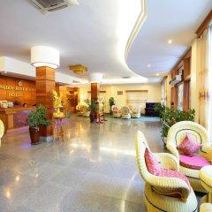 Ayarwaddy River View Hotel интерьер отеля
