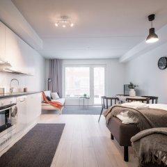 Отель Spot Apartments Espoon Keskus Финляндия, Эспоо - отзывы, цены и фото номеров - забронировать отель Spot Apartments Espoon Keskus онлайн комната для гостей фото 2