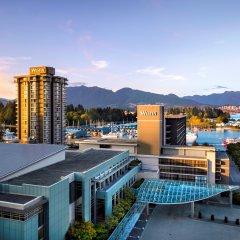 Отель The Westin Bayshore Vancouver Канада, Ванкувер - отзывы, цены и фото номеров - забронировать отель The Westin Bayshore Vancouver онлайн бассейн фото 3
