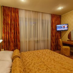 Отель Славянка Челябинск комната для гостей фото 5