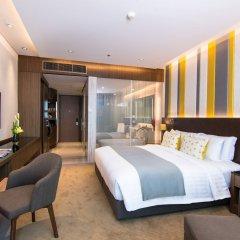 Отель Lancaster Bangkok комната для гостей фото 5