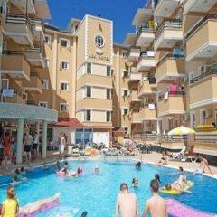 Kleopatra Aydin Hotel Турция, Аланья - 2 отзыва об отеле, цены и фото номеров - забронировать отель Kleopatra Aydin Hotel онлайн бассейн фото 2