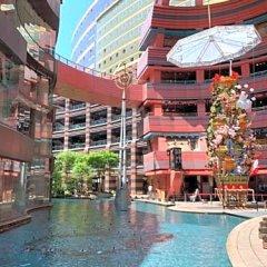 Отель Trip Pod Takasago B Фукуока бассейн
