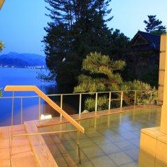 Отель Yunoyado Saika Мисаса балкон
