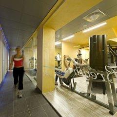 Отель Arli Business And Wellness Бергамо фитнесс-зал фото 2