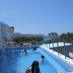 Hotel Corona Zihua Сиуатанехо бассейн фото 2
