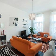 Отель Ostrovni Apartment Чехия, Прага - отзывы, цены и фото номеров - забронировать отель Ostrovni Apartment онлайн комната для гостей фото 3