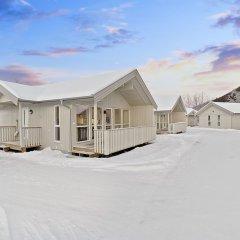Отель Tromsø Camping парковка