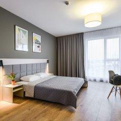 Отель Апарт-отель City Comfort Польша, Варшава - 8 отзывов об отеле, цены и фото номеров - забронировать отель Апарт-отель City Comfort онлайн комната для гостей фото 4