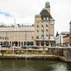 Отель Elite Savoy Мальме приотельная территория