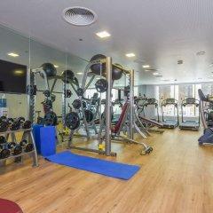 Отель Premier Inn Dubai Al Jaddaf фитнесс-зал фото 2